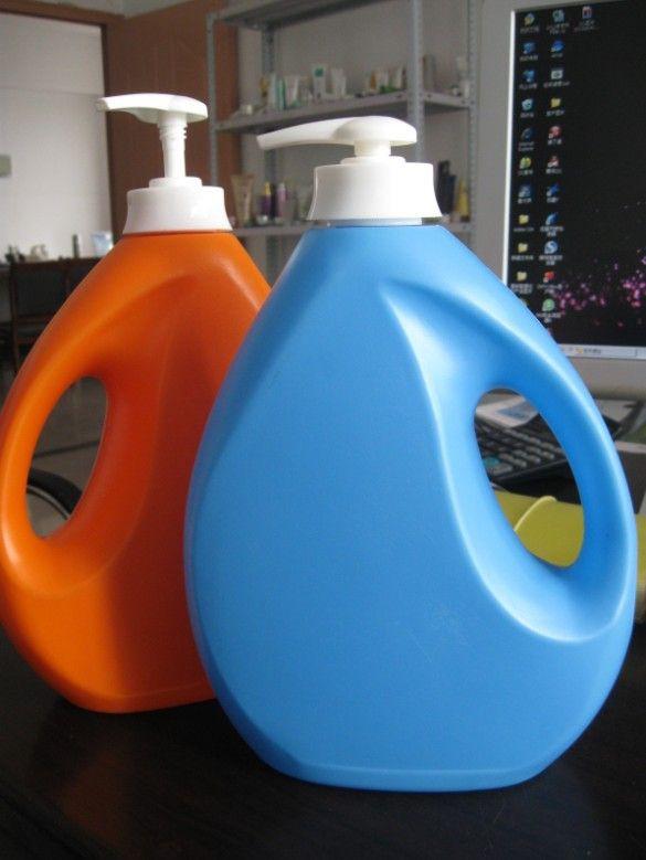 1.5升水滴压泵洗衣液壶